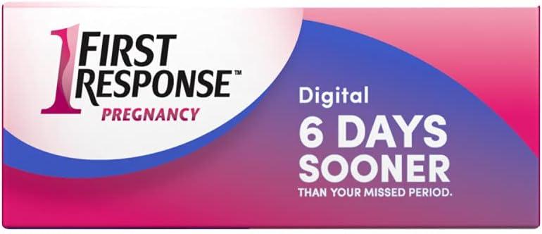 First Response Gold Digital Pregnancy Test, 2 Pack