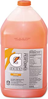 Gatorade 3955 1 Gallon Jug Orange Liquid Concentrate (4-Pack)