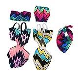 SM SunniMix 人形 プリント水着 ビキニ   1/6ドールのため 12インチドールのため 4色選択