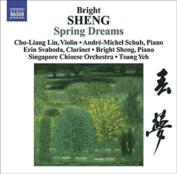 Sheng, Bright: Spring Dreams / 3 Fantasies / Tibetan Dance
