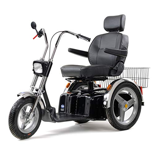 TGA Supersport 8mph Scooter, 32 Inch Extra Wide Bench Seat +?300