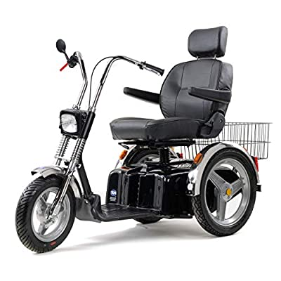TGA Supersport 8mph Scooter, 32 Inch Extra Wide Bench Seat +£300