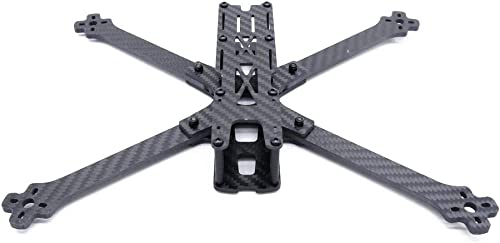 ¡No dudes! ¡Compra ahora! Desconocido Desconocido Desconocido Generic Sonic 7 300mm Wheelbase 4mm Arm Carbon Fiber 7 Inch Frame Kit for RC Drone FPV Racing  más descuento