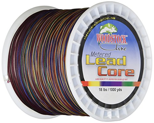 Woodstock 18-Pounds Metered Lead Core Fishing...
