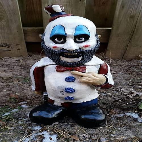 2021 BUBULAND Nightmare Horror Gnome Sulpture, Handmade Horror Movie Garden Gnomes Statue, Creepy...