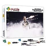 Rompecabezas de 1000 piezas para adultos Cristiano Ronaldo Teens Rompecabezas Juego de rompecabezas desafiante de 1000 piezas Juegos de rompecabezas para niños Edades 14+ 75x50cm