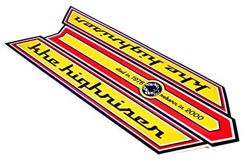 KHE Highriser Bonanzarad Aufkleber Sticker für Rahmen sehr Hochwertig - D9