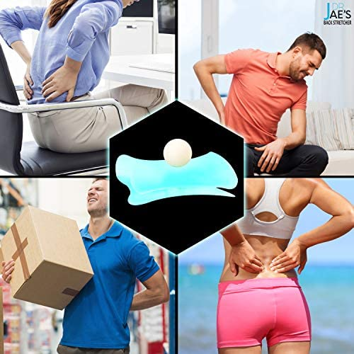 Jae Back Stretcher for Lower Back Pain Relief Ball Stretcher for Sciatica Pain Relief Innovative product image