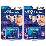 SleepRight Intra-Nasal Sleep Inhaler Nasal Congestion Reducer with Lavender (2-Pack)