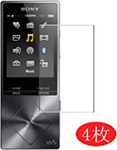 【4 Pack】 Synvy Screen Protector for Sony Walkman NW-A20 / A10 Series (NW-A27 / NW-A26 / NW-A25 / NW-A17 / NW-A16) TPU Flexible HD Clear Film Protective Protectors [Not Tempered Glass] New Version
