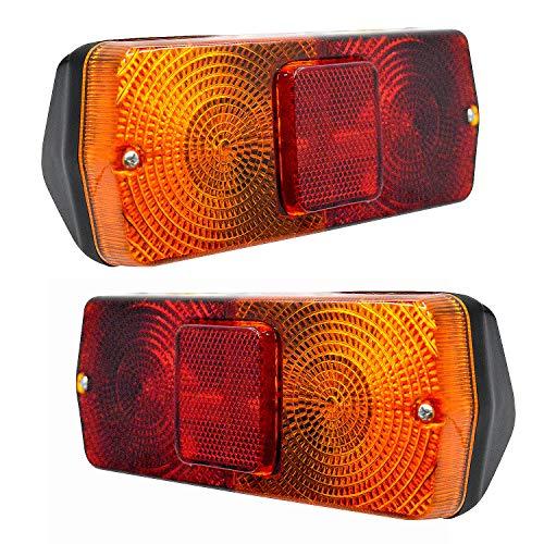 RH//LH Landini para Massey Ferguson S.71008 nuevo 2 x Lentes de luz trasera Cobo