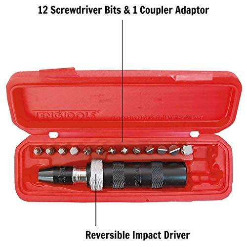 Tengtools ID515 - Juego de destornillador de impacto y vasos 1/2'