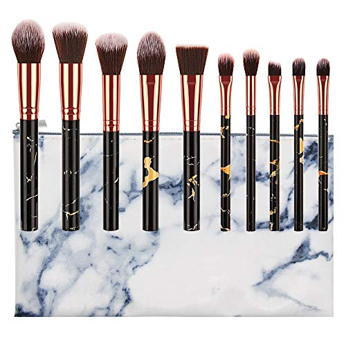 Make Up Pinsel Set,Kosmetikpinsel Foundation Pinsel Set Gesichtspinsel Make Up Schminkpinsel...