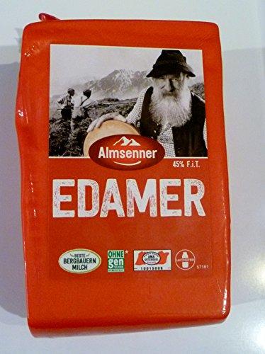 Almsenner Edamer 45 % F.i.T 1,6 kg Stück aus dem Pinzgau Österreich Käse