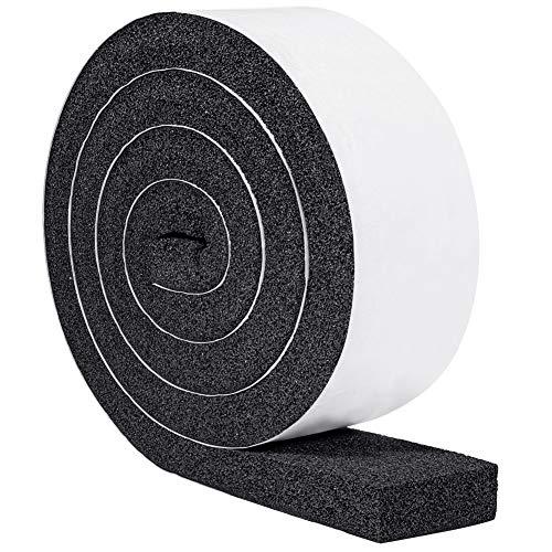 YoTacheクッションソフトテープ 窓用エアコン 静音 防水 厚手防音テープ 気密防水パッキン50mm (幅) x 25mm...