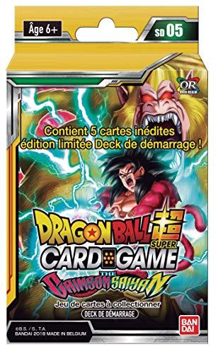Dragon Ball Super Card Game : Deck de Démarrage DE 51 Cartes : The Crimson Saiyan - Version Francaise