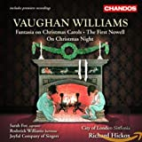 Cls: Ralph Vaughan Williams: On Christmas Night / The First Nowell / Fantasia on Christmas Carols (Audio CD)