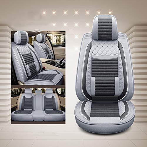 SADGE para Audi e-Tron Q7 Hybrid TT Convertible TTS Convertible Fundas de Asiento para Coche, Univer