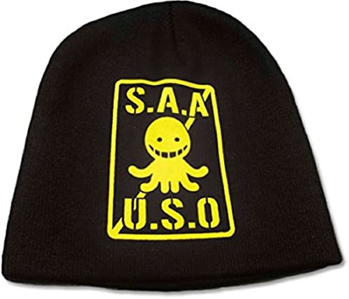 Great Eastern Entertainment Assassination Classroom S.A.A.U.S.O. Logo Headwear, Gelb by Great Eastern Entertainment