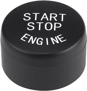 Cuque 0.8 inch Auto Car Engine Ignition Start Button for F20 F21 F30 F31 F10 F11 F01 F48 F25 F15 F16 with Off Button(Black)