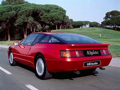 Alpine A610 V6 GT V6 Turbo - Owner Manual (English Edition)