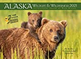 Alaska Wildlife and Wilderness Monthly Wall Calendar 2021