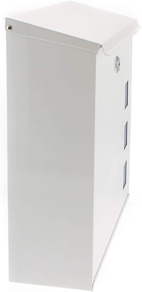 G2 Trading Company 060 Aire Steel Postbox white