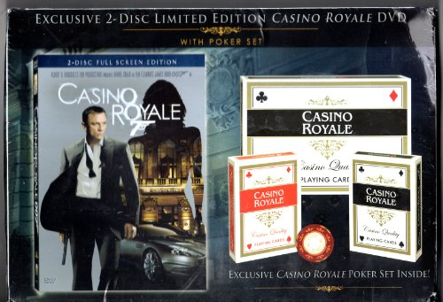 James Bond: Casino Royale with Limited Edition Poker Set