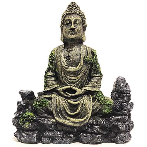 SLOCME Aquarium-Buddha-Statue, Dekoration für Aquarien, Dekoration