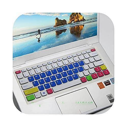 Teclado protector de teclado de 14 pulgadas para Lenovo Yoga 510 14' 510-14Ikb 510-14Ikb 510-14Ast 510 14Ikb 14Ik 14Ast 710 14 -Color 1