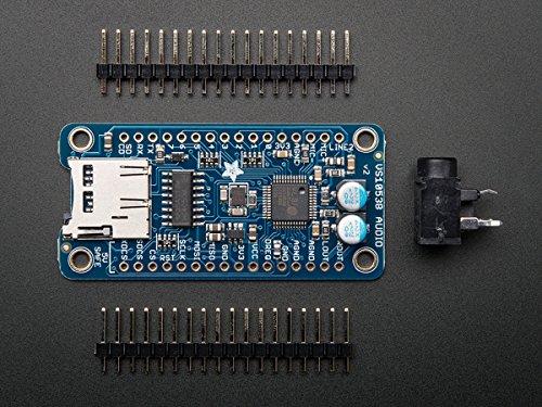 Adafruit VS1053-Codec und MicroSD-Breakout - MP3/WAV/MIDI/OGG abspielen - Aufnahmefunktion