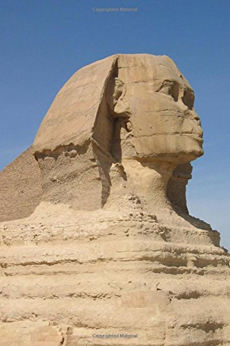 Great Sphinx of Giza, Egypt Journal: 150 page lined notebook/diary