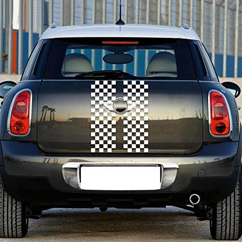 LSDJPO Car Truck Door Luggage Decor Trim DIY Sticker Decal Bumper Scratch,For Mini Cooper R60 Countryman Car-Styling Accessories