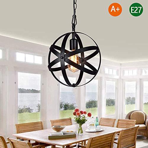 E27 kroonluchter plafondlamp eenvoudig industrieel smeedijzer woonkamer plafondlampen restaurant bar café hanger licht badkamer keuken hanglamp Chandelier