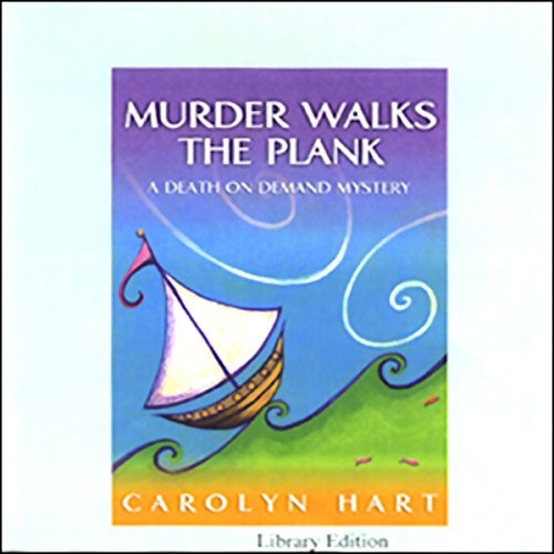 Murder Walks the Plank audiobook cover art