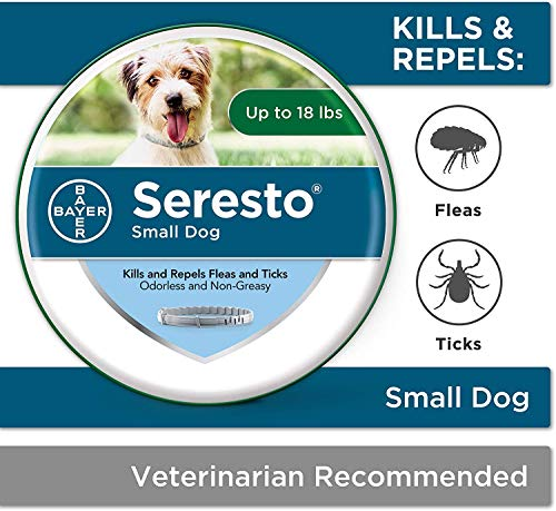 V1 Animal Health Sresto Flea and Tick Collar for Dogs, 8-Month,Dog Health Protect