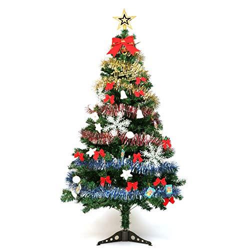 Set De Decoraciones De Árboles De Navidad Artificiales Pvc150cm Luces Venta Adornos Con Decoración Linterna Árbol Superior