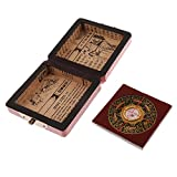 Brújula China Feng Shui Compass Luo Pan Tool Colección Color Rojo Geomantic Compass