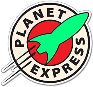 Futurama Planet Express Vynil Car Sticker Decal - 5