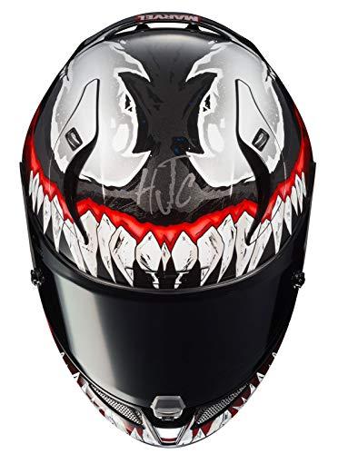 HJC Helmet R-Pha-11 Venom Black/Red L