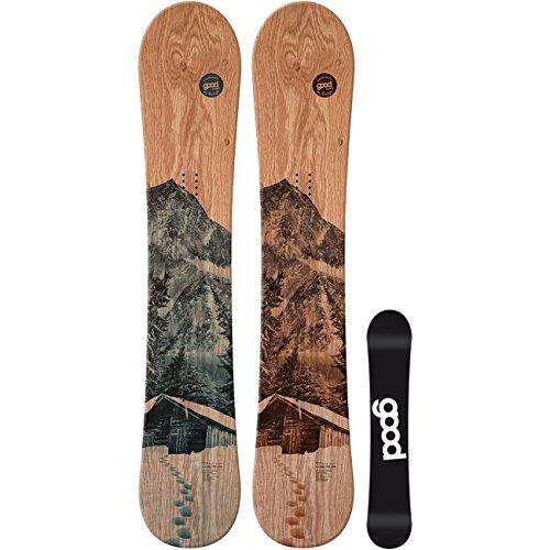 Good Herren Freestyle Snowboard Wooden Camber , Größe:159