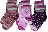Camano Mädchen 1106016000 Socken, Violett (Plum 4730), 31-34 (Herstellergröße: 31/34) (6er Pack)