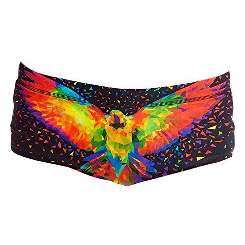 Funky Trunks Classic Trunks King Parrot Zwembroek voor jongens (AUS8/140)