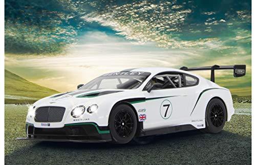 Jamara - 404575 - Bentley Continental Gt3 - 27 MHz - Echelle 1/14 Blanc
