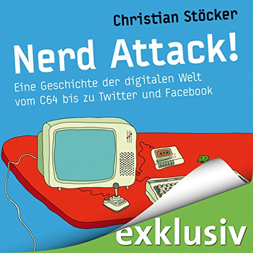 Nerd Attack! audiobook cover art