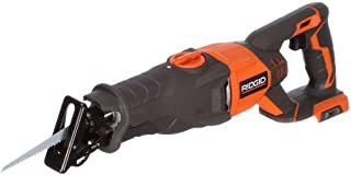 Ridgid R8641B X4 18 Volt Cordless Reciprocating Saw w/ Orbital Action (Battery Not Included, Power Tool Only)