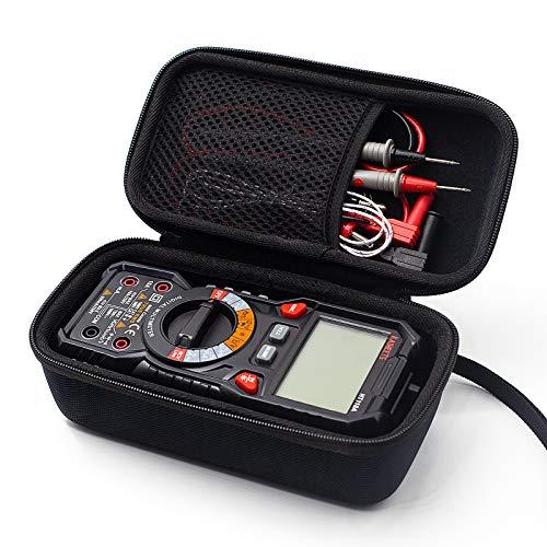 KAIWEETS BB-100 Estuche de Multimetro, Compatible con KAIWEETS HT118A Multimetro, Únicamente Estuche Será Entregada, No Incluidos el Multimeters Ni los Cables de Prueba (21 x 11,5 x 9 cm)