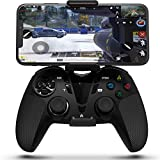 DarkWalker Wireless Bluetooth Controller, Mobile Controller for iOS 13 or Later Support MFI-Compatible Games - Android 10 Cloud Gaming Support Xcloud Stadia Shadow - PS4