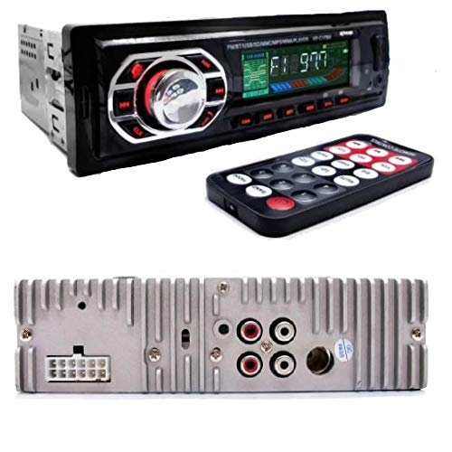 Som Automotivo Bluetooth Mp3 Player USB SD Som Carro KP-C17BH