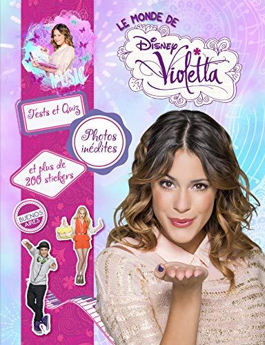 Violetta, MA JOURNEE AVEC VIOLETTA + STICKERS